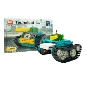 Play N Learn STEM DIY Battery Operated Technical Tank