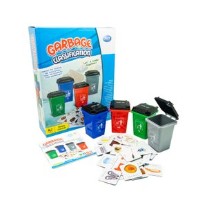 Play N Learn Science Recycling Garbage Classification Board Game