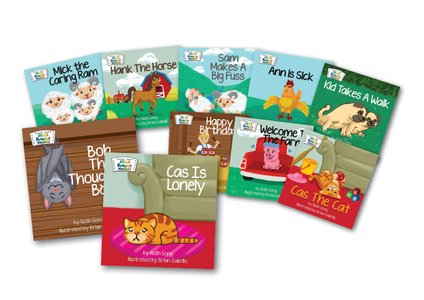 STAR Readers for ages 3 and up-10 graded books