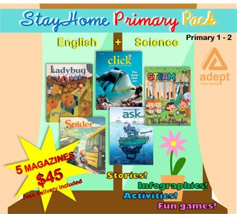 STAY HOME LOWER PRIMARY PACK