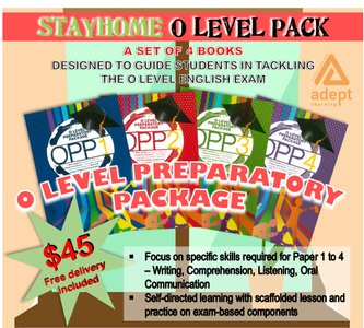 STAY HOME O LEVEL PACK