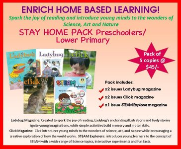STAY HOME PRESCHOOL PACK