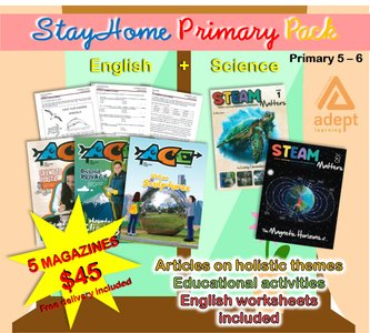 STAY HOME UPPER PRIMARY PACK