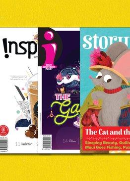 "iThink + Inspire + ""i""+ Story Time Magazine Combo Pack"