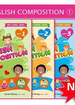Beginner Composition Pack Bundle of 4 Books ( Preschool )