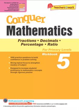 Conquer Mathematics Fractions Decimals Percentage Ratio Book 5