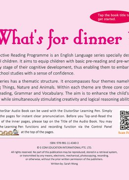 Interactive Reading Programme(Stage 1/2) + Magic Fun Book 1 to 8 + EtutorStar Learning Pen ( Preschool )