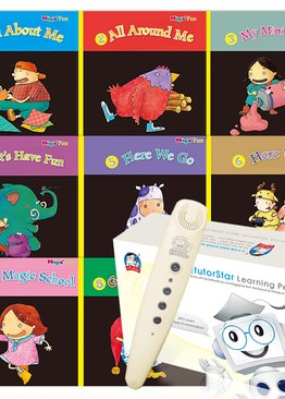 Magic Fun Book 1 to 8 + EtutorStar Learning Pen ( Preschool )