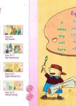 Magic Fun Book 1 to 8 + EtutorStar Learning Pen ( Preschool )