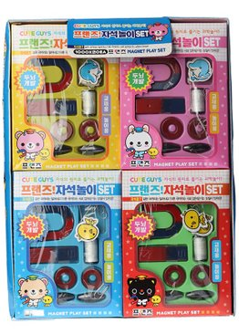 Science Educational Toy For Kids Play N Learn Party Gift Mini Magnet Set ( 2 in 1 )
