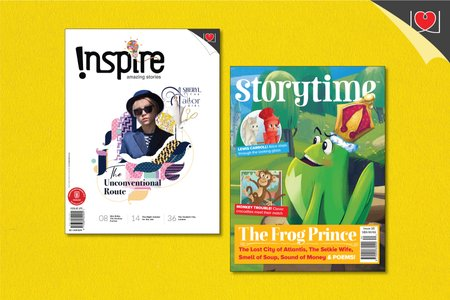 Inspire & Story Time Magazine Combo Pack