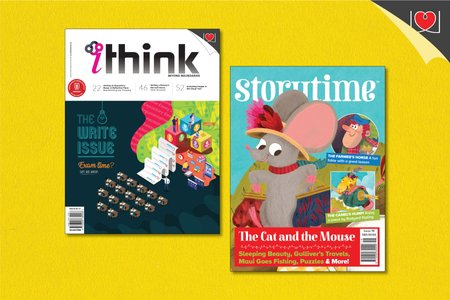 iThink & Story Time Magazine Combo Pack