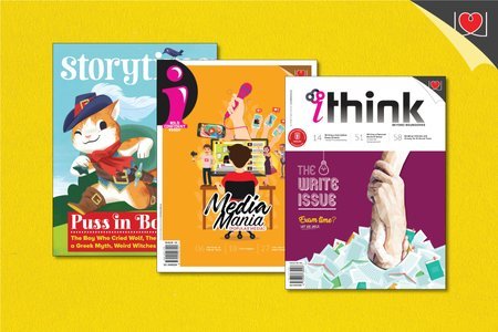 """iThink + """"i""""+ Story Time Magazine Combo Pack"""
