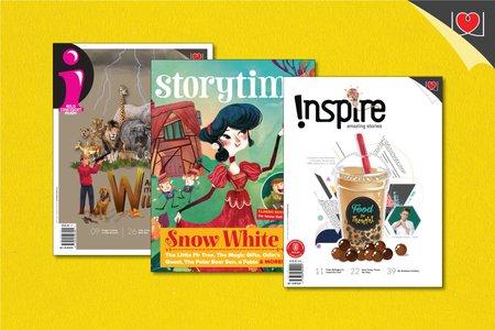 "Inspire + ""i""+ Story Time Magazine Combo Pack"