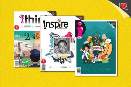 """iThink + Inspire + """"i"""" Magazine Combo Pack"""