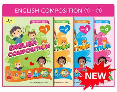 Beginner Composition Pack Bundle of 4 Books ( Preschool )