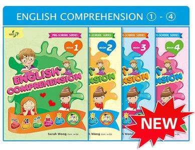 Beginner Comprehension Pack Bundle of 4 Books ( Preschool )