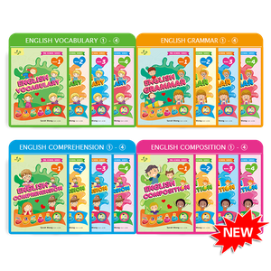 Beginner English Ultimate Pack Bundle of 16 Books ( Preschool )