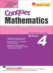 Conquer Mathematics Factors - Multiples - Fractions Book 4