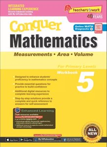 Conquer Mathematics Measurements Area Volume Book 5