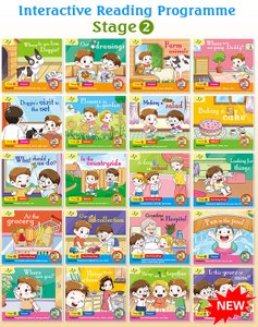 Interactive Reading Programme(Stage 2) Bundle of 20 Books ( Preschool )