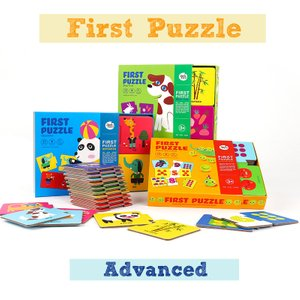My Puzzle Set - Meal/ Match and Count/ Opposites (Advanced)
