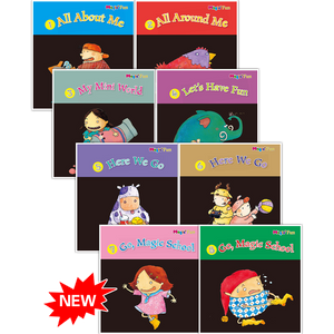 Magic Fun Book 1 to 8 ( Preschool )