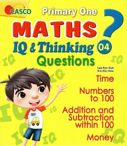 P1 Maths IQ & Thinking Questions Book 4