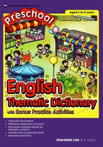 Preschool English Thematic Dictionary with Activities