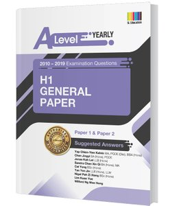 A Level H1 General Paper (Yearly) Answer Book 2010-2019