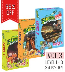 Science Adventures Vol 3 - Levels 1+2+3