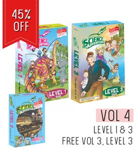 Science Adventures Vol 4 - Levels 1+3