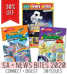 Science Adventures + New Bites 2020 Triple Subscription