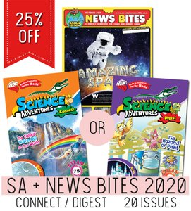 Science Adventures + New Bites 2020 Twin Subscription