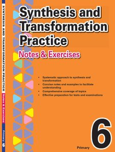 Primary 6 Synthesis and Transformation Practice