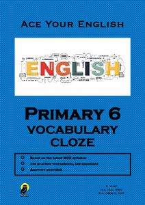 PRIMARY SIX ACE YOUR ENGLISH VOCABULARY CLOZE