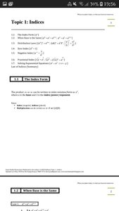 Exam Buddy Elementary Mathematics Sec 3 (2020 Edition) Topic 1: Indices