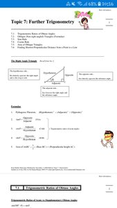 Exam Buddy Elementary Mathematics Sec 3 (2020 Edition) Topic 7: Further Trigonometry