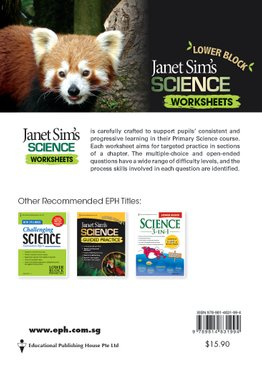 Janet Sim's Science Worksheets Lower Block