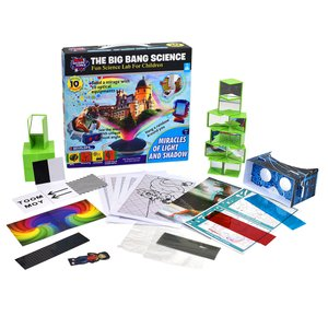 Educational Toys STEM Big Bang Fun Science Light and Shadow Experiments for Kids Learning Resource