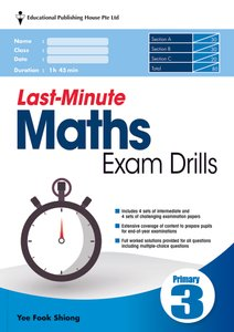 Last-Minute Maths Exam Drills P3