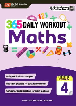 365 Daily Workout: Maths P4