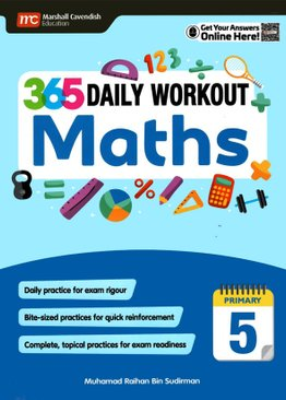 365 Daily Workout: Maths P5