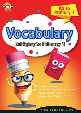 Bridging K2 to Primary 1 - Vocabulary