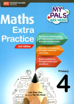 My Pals are Here! Maths Extra Practice P4 (2E)