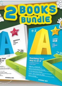 (2 Books Bundle) Practising Your Way to an A★ |   THE STUDENT