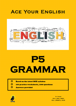 PRIMARY FIVE ACE YOUR ENGLISH GRAMMAR