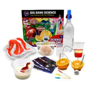 STEM Big Bang Science in the Kitchen 10 Fun Science Experiments for Kids Learning Resource