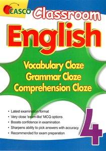 Classroom English Vocab/Grammar/ Comprehension Cloze 4