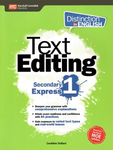 Distinction in English: Text Editing Sec 1 Express (2E)
